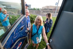 The folks from Pinkerton Tobacco executives and their contest winners go to the Indianapolis 500 before doing double duty by going to the Coke 600 in Charlotte.  Event done by x9 promotions out of Las Vegas.