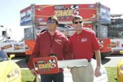 Daytona International Speedway on Saturday, Feb. 19, 2005. (Photo by Tom Copeland, CIA Stock Photo)