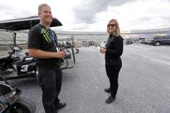 At Dover International Speedway in Dover, Delaware on September 27, 2013.